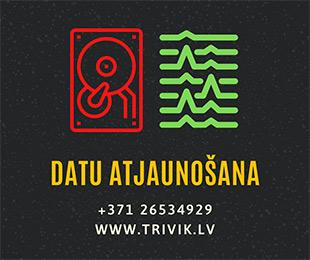 Datu atjaunošana | Trivik