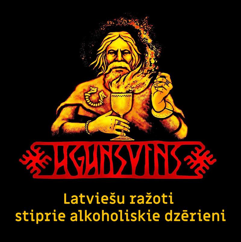 Latviešu ražoti stiprie alkoholiskie dzērieni